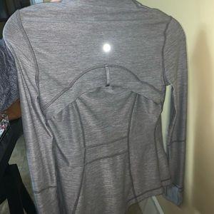 grey lululemon light jacket